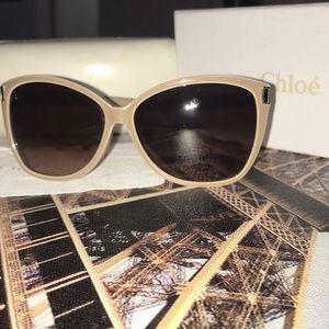 CHLOE Sunglasses CE604S 275 Poudre/Crystal
